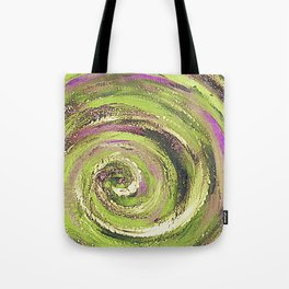Spiral nature Tote Bag