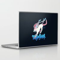 sylveon Laptop & iPad Skins featuring Dragonslayer by Leonie X. Li