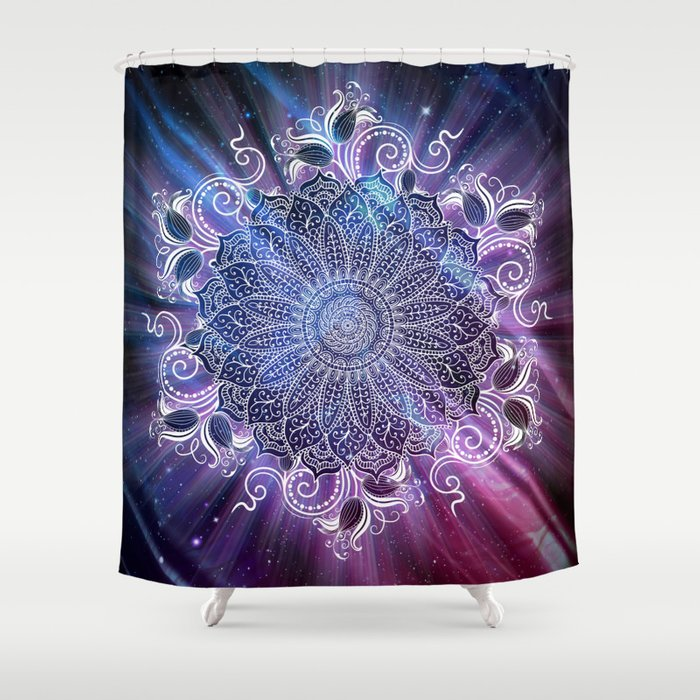 Universe Shower Curtain By Mandelez