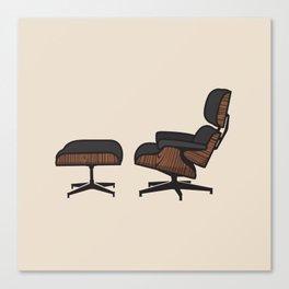 TFP #1 Eames Lounge Canvas Print