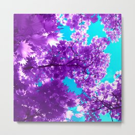 purple tree XVIII Metal Print