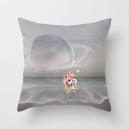 How did I get here, how can I go home. Throw Pillow