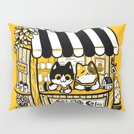 Cat Nap Cafe Pillow Sham