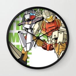 MTMTE Chromedome & Rewind Wall Clock