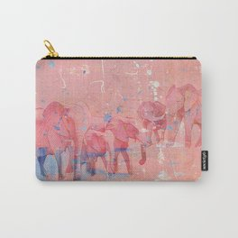 I See Pink Elephants Carry-All Pouch