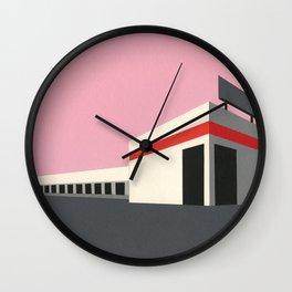 Sunset Warehouse Wall Clock