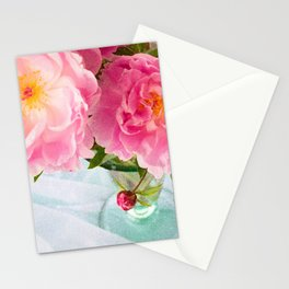 Vibrant Bouquet with filters Stationery Cards