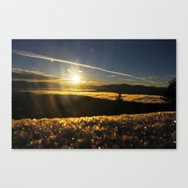 Truckee Sunrise Canvas Print
