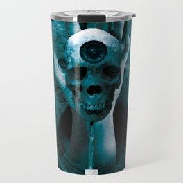 """The Death of Life"" Dark Surrealistic Art Travel Mug"