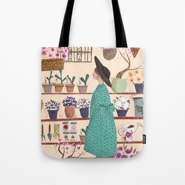 The Flower Shop Tote Bag