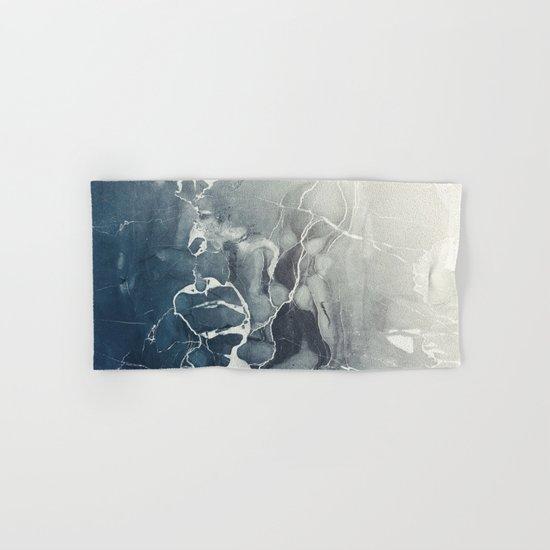 Ultramarine Marble Hand & Bath Towel