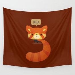 Little Furry Friends - Red Panda Wall Tapestry