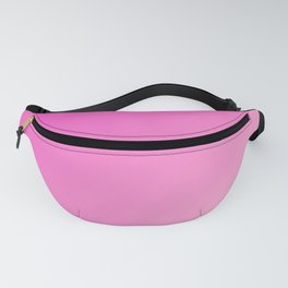 Pink rose View gradient color Fanny Pack