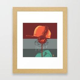 Invisible Music Framed Art Print