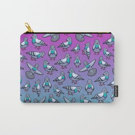 Pretty Pigeons Carry-All Pouch