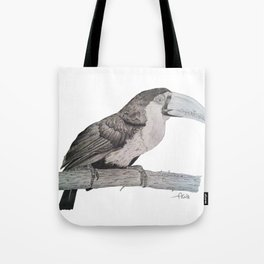 Tropical Bird Tote Bag