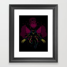-X- Framed Art Print