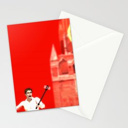 SquaRed: The Clocks Stationery Cards
