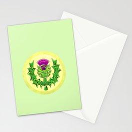 Heraldic Thistle Stationery Cards