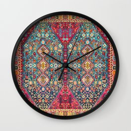 N131 - Heritage Oriental Vintage Traditional Moroccan Style Design Wall Clock