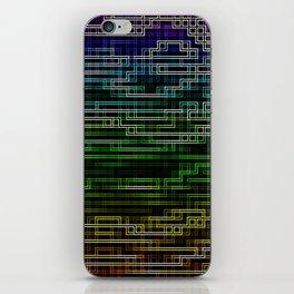 Cubic Chromatic iPhone Skin