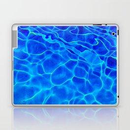 Blue Water Abstract Laptop & iPad Skin