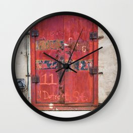 In the Door series, from my street photography/doors collection Wall Clock