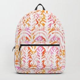 palm springs balinese ikat mini Backpack