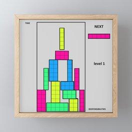 Level 1 Framed Mini Art Print
