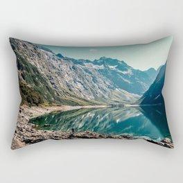 Into the wild mountains Rectangular Pillow