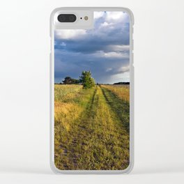 Summer Field Poetry #2 Clear iPhone Case