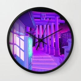 Kitsune Jinja Wall Clock