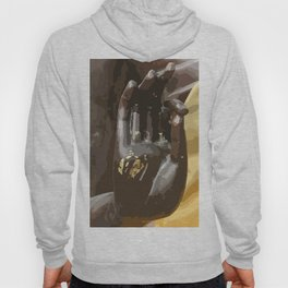 Buddha Hand Illustration Hoody
