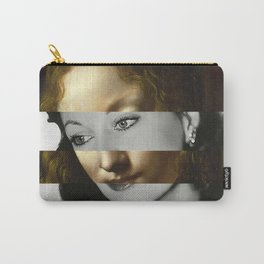 Leonardo Da Vinci's Madonna from The Virgin of the Rocks & Vivien Leigh Carry-All Pouch