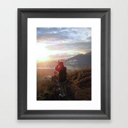 Morning Ritual  Framed Art Print