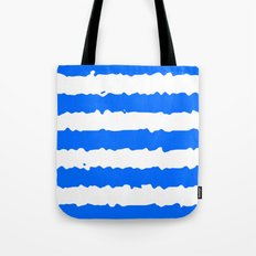 Blue Stripes Tote Bag
