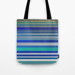 Blue lines 1 Tote Bag