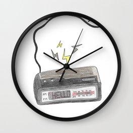 Leave Me Behind Wall Clock