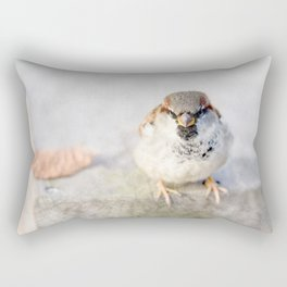 Don't Mess With Sparrows Rectangular Pillow