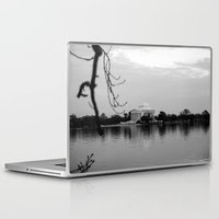 washington dc Laptop & iPad Skins featuring Washington DC by mariavilla