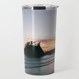 Beach Sunset Travel Mug