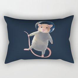 Mouse Astronaut Rectangular Pillow