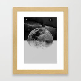 MOONHEAD Framed Art Print