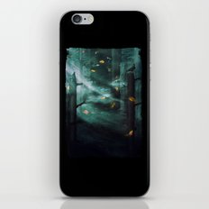 In the Woods Tonight iPhone & iPod Skin