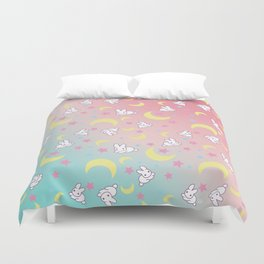 Moon Pattern Duvet Cover