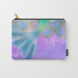 Mermaid Iridescent Shimmer Carry-All Pouch