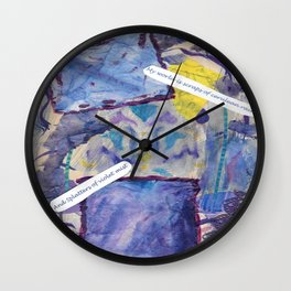 Pieces Wall Clock