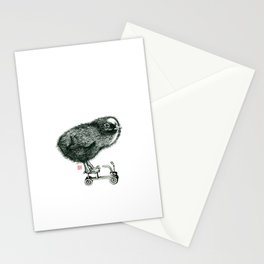 Chick on speed Stationery Cards