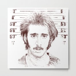 H.I. McDunnough - Raising Arizona Metal Print