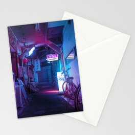 Tokyo Nights / Blue Monday / Liam Wong Stationery Cards
